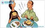Sùi mào gà có lây qua đường ăn uống không