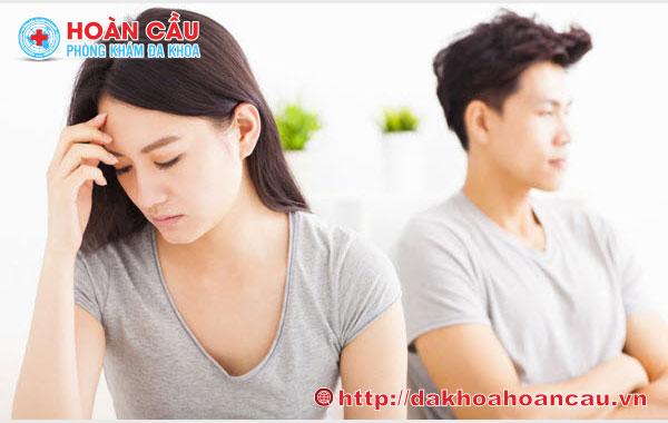 Bệnh huyết trắng ảnh hưởng đến sinh hoạt vợ chồng
