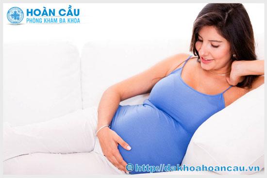 Nguyên nhân bà bầu bị đau bụng dưới