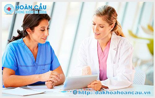 Bác sĩ khám phụ khoa buổi sáng tại Tphcm