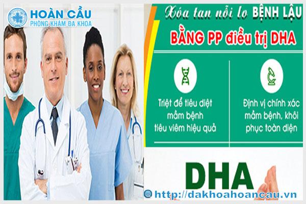 Chữa bệnh lậu bằng kỹ thuật DHA tiên tiến tại PKĐK Hoàn Cầu TPHCM