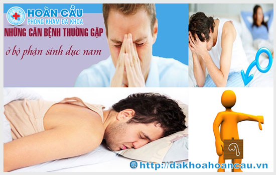 Tống hợp các bệnh nam khoa thường gặp ở nam giới