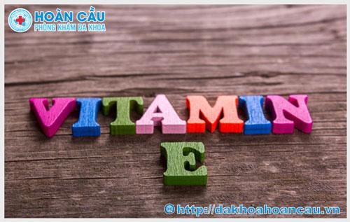 Công dụng của vitamin E với nam giới bị hiếm muộn