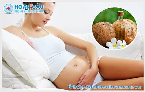 Dầu dừa: Công dụng và cách sử dụng khéo léo cho mẹ bầu