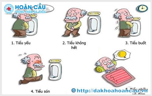 Dấu hiệu và triệu chứng bệnh nhiễm trùng đường tiểu