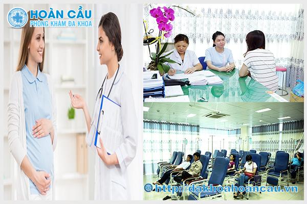 Phòng khám Hoàn Cầu - Giúp chăm sóc mẹ bầu khỏe mạnh suốt thai kỳ
