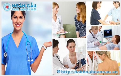 Chữa bệnh phụ khoa an toàn, hiệu quả tại Đa Khoa Hoàn Cầu TPHCM