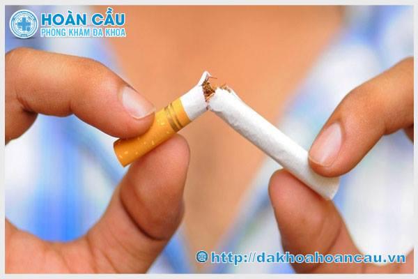 Nói không với thuốc lá khi điều trị xuất tinh sớm hiệu quả ở phái mạnh