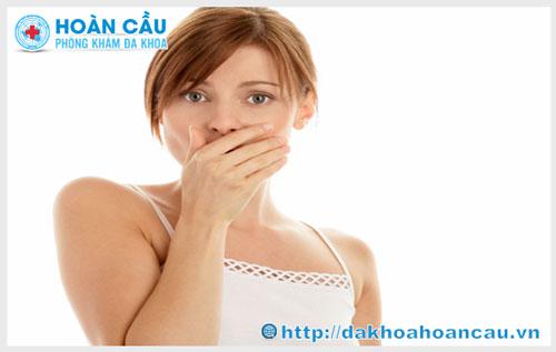Khí hư có mùi hôi là bệnh gì ?