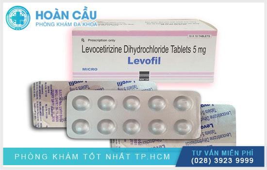 công dụng thuốc levocetirizine