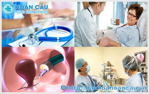 Tiểu phẫu mổ nội soi polyp lòng tử cung an toàn