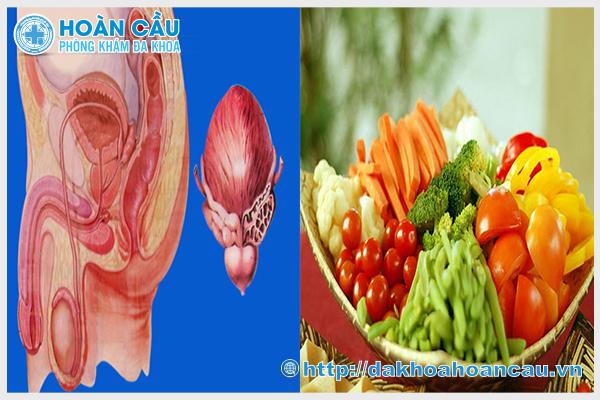 Có nhiều thực phẩm cần ăn sau khi mổ tuyến tiền liệt