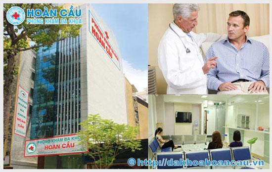 Phòng khám đa khoa Hoàn cầu - Địa chỉ khám chữa liệt dương uy tín
