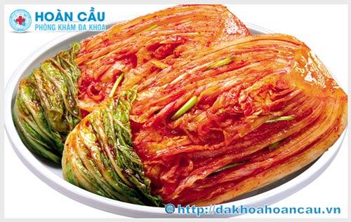 Phụ nữ mang thai có nên ăn kim chi Hàn Quốc không ?