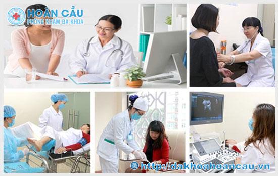 Khám và điều trị các bệnh phụ khoa hiệu quả tại Đa Khoa Hoàn Cầu