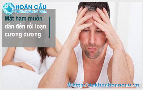 Nguyên nhân gây chứng rối loạn cương dương