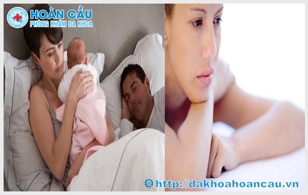 Có nhiều nguyên nhân gây tình trạng rong kinh sau khi sinh