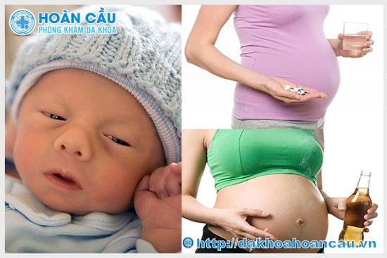 Nguyên nhân khiến thai nhi dị tật