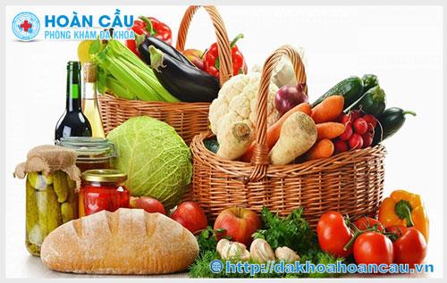 Thực phẩm cho người mắc bệnh viêm lộ tuyến cổ tử cung