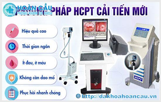 HCPT - Phương pháp điều trị trĩ ngoại hiện đại, an toàn