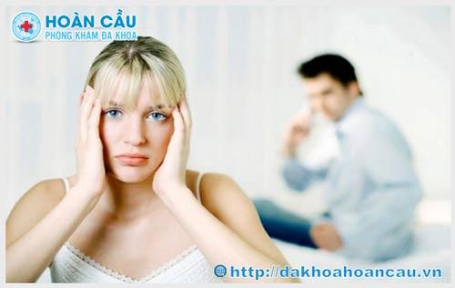 triệu chứng của viêm tuyến bartholin