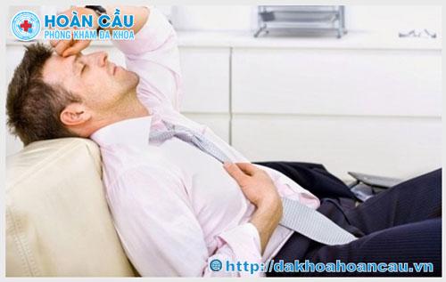 Triệu chứng bệnh viêm bàng quang mãn tính