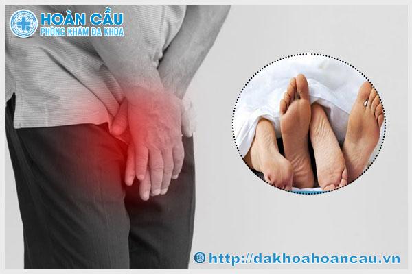 Viêm tuyến tiền liệt ở mức độ nặng cần dừng ngay việc quan hệ để điều trị